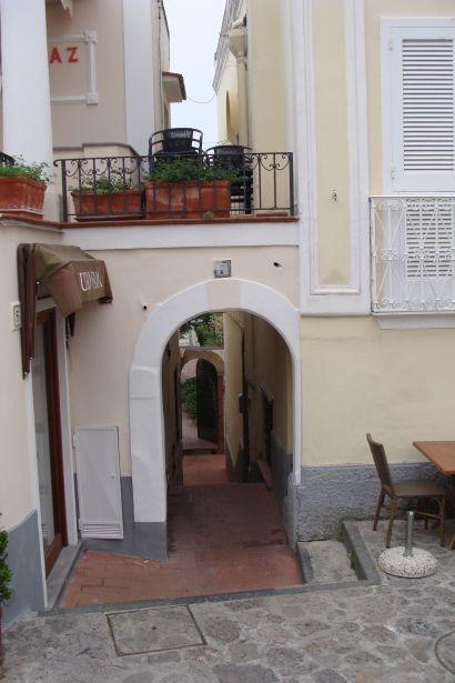 Anacapri-zaułek capri