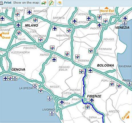 autostrady we włoszech cennik kalkulator