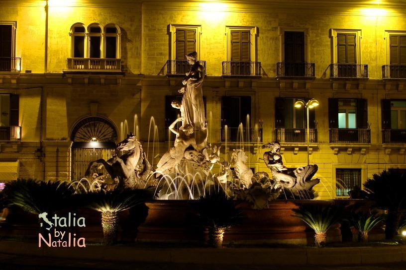 Ortigia-wieczorem