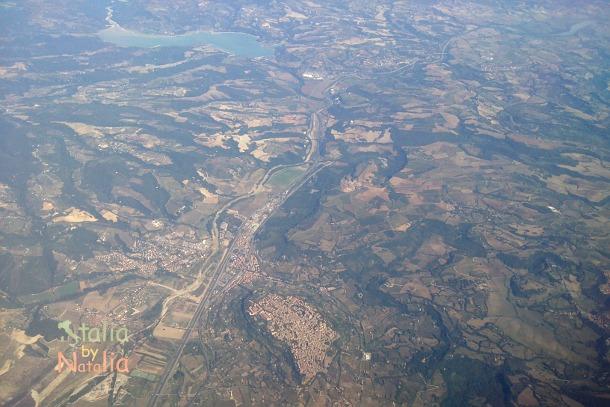 Orvieto i Lago di Corbara