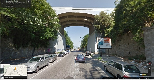 Parco-Virgiliano-wiadukt