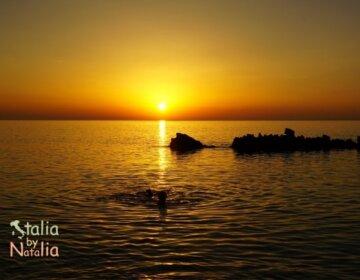 zachody słońca na Sycylii