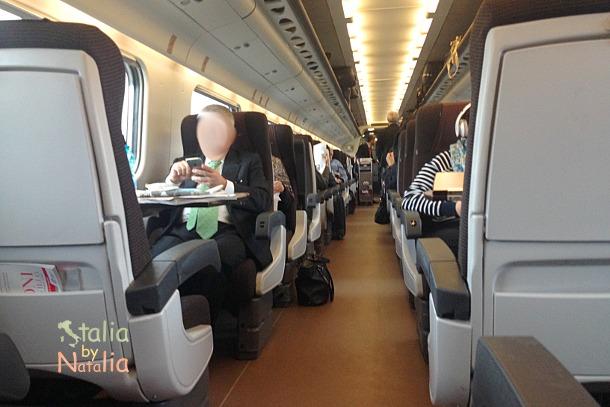 szybkie pociągi we Włoszech