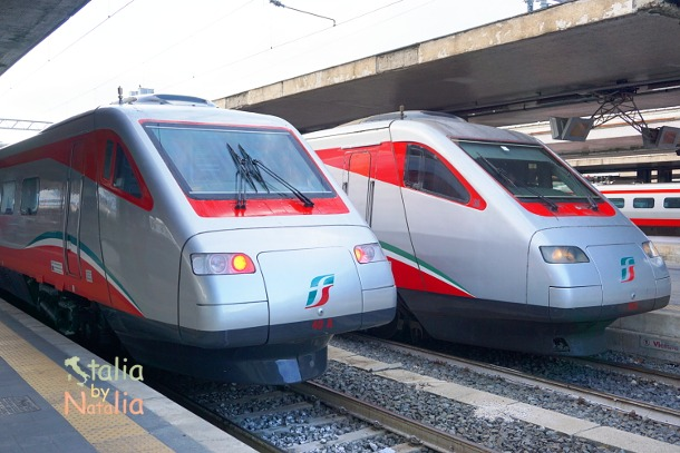 Rent A Car Or Travel By Train In Italy