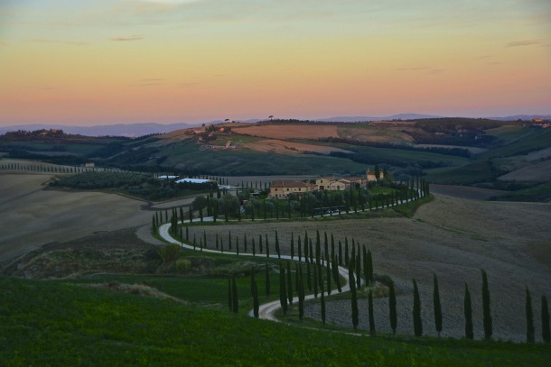 Tuscany the most beautiful view points in the val d - Bagno vignoni agriturismo ...
