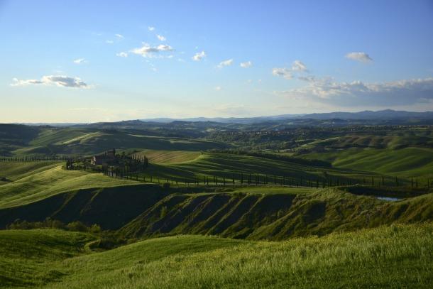 Punkty widokowe w Toskanii
