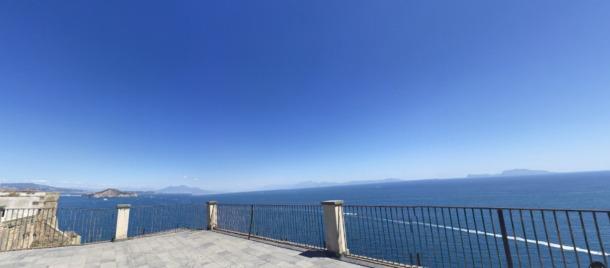procida widok neapol