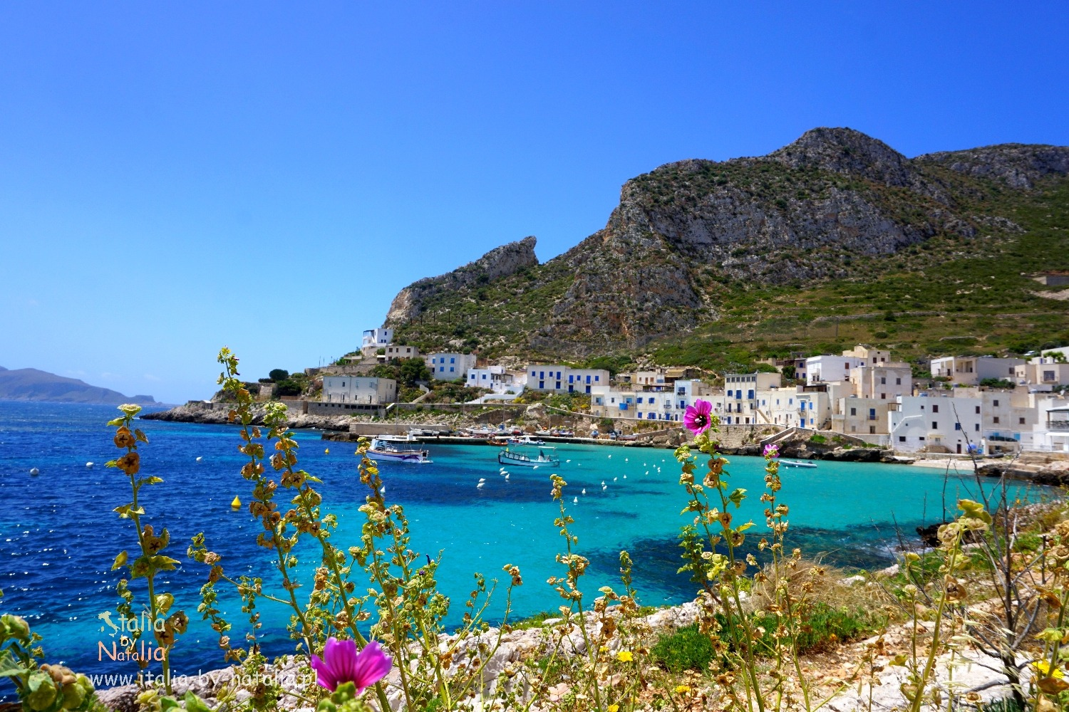 Sicily. Levanzo - 25 minutes to another world