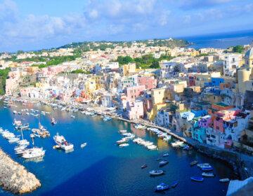 Procida wyspa koło Neapolu, Kampania