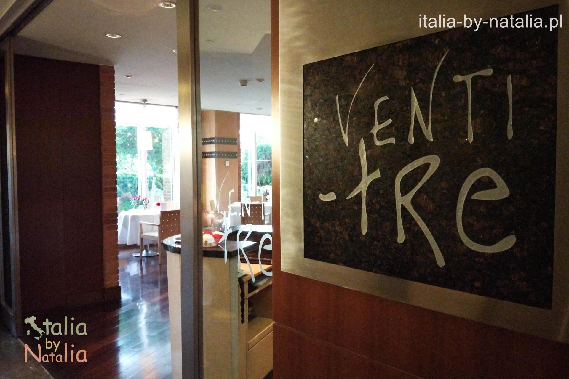 Hotel Regent Warsaw Venti-Tre Restaurant