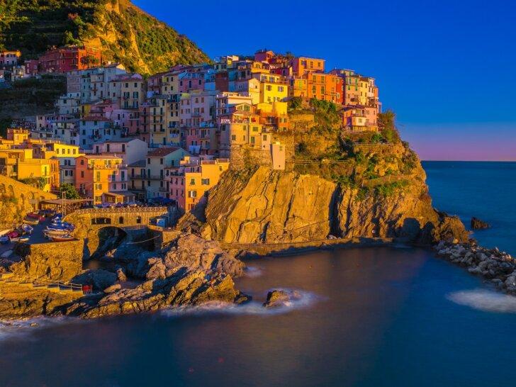 Manarola-Cinque-Terre-jesień-Liguria