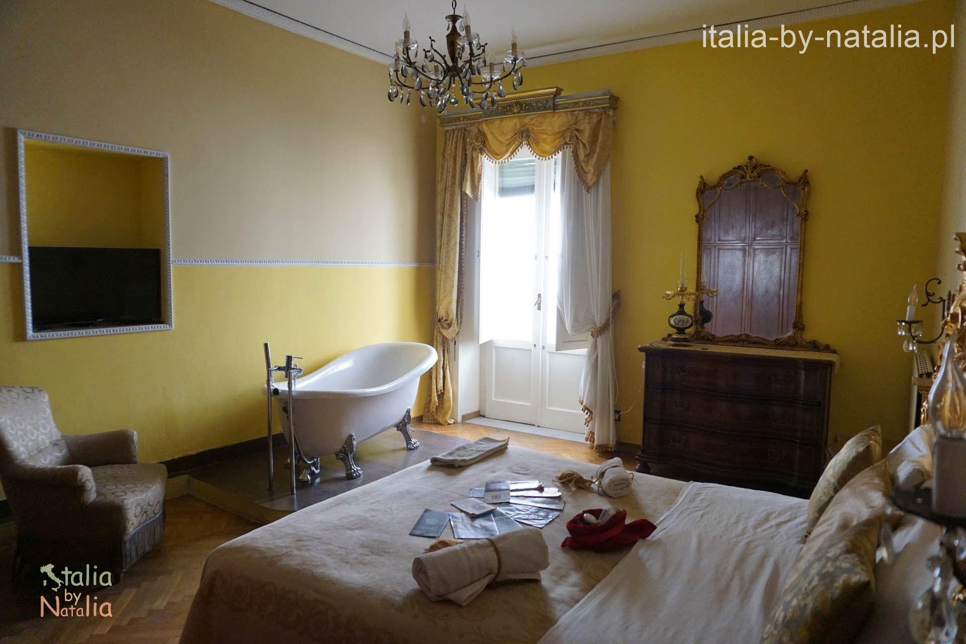 Pokój w Napoli Retro.