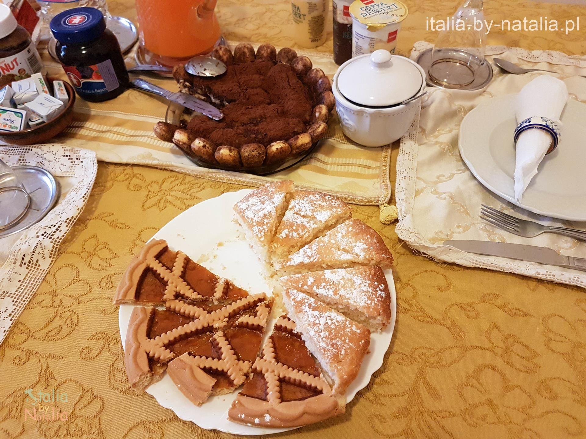 nocleg neapol Śniadanie w Neapolu