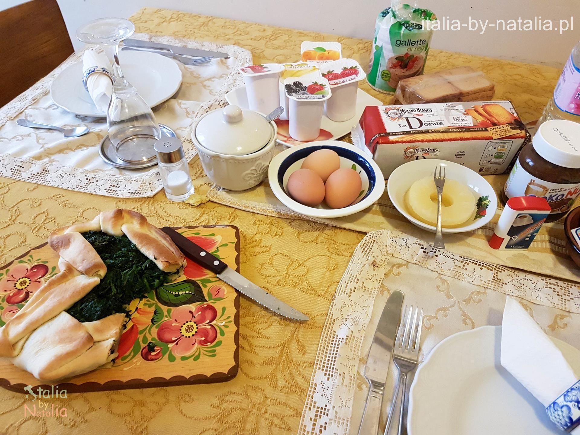 Śniadanie w Neapolu