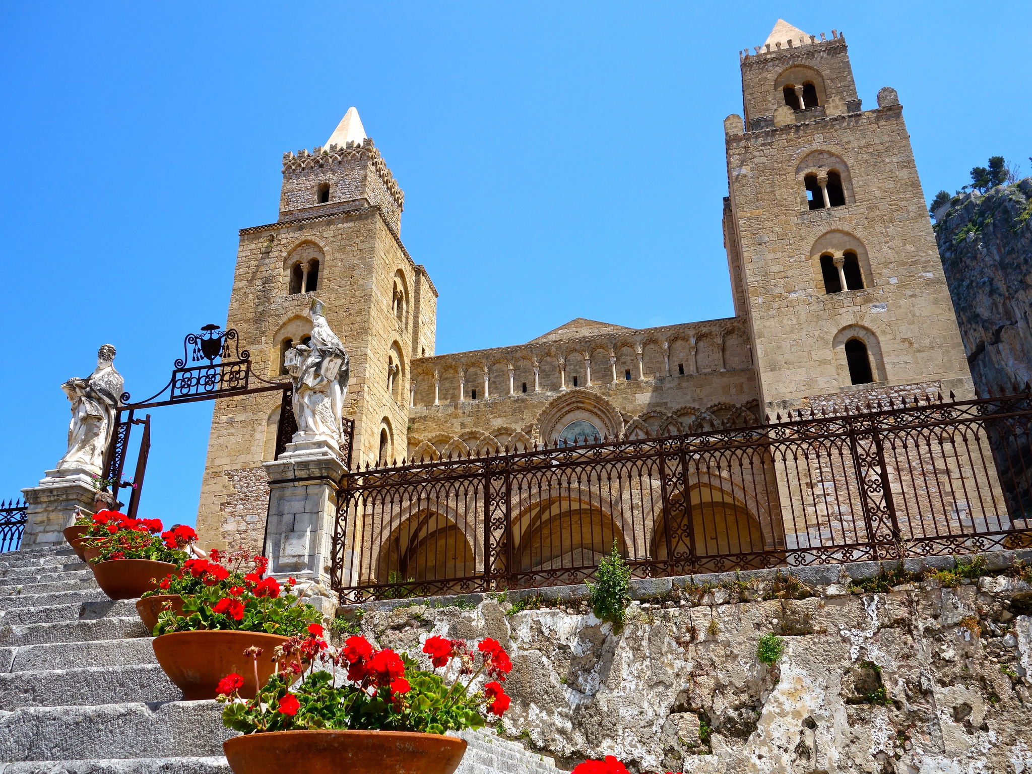 Duomo katedra Cefalu Sycylia Sicily