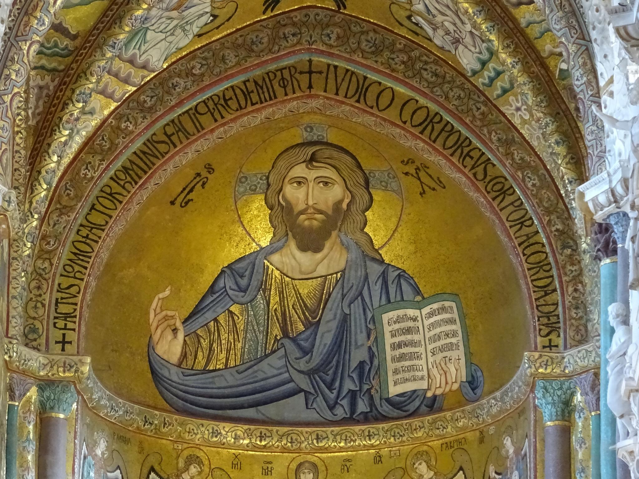 Cefalu Duomo Pantokrator katedra
