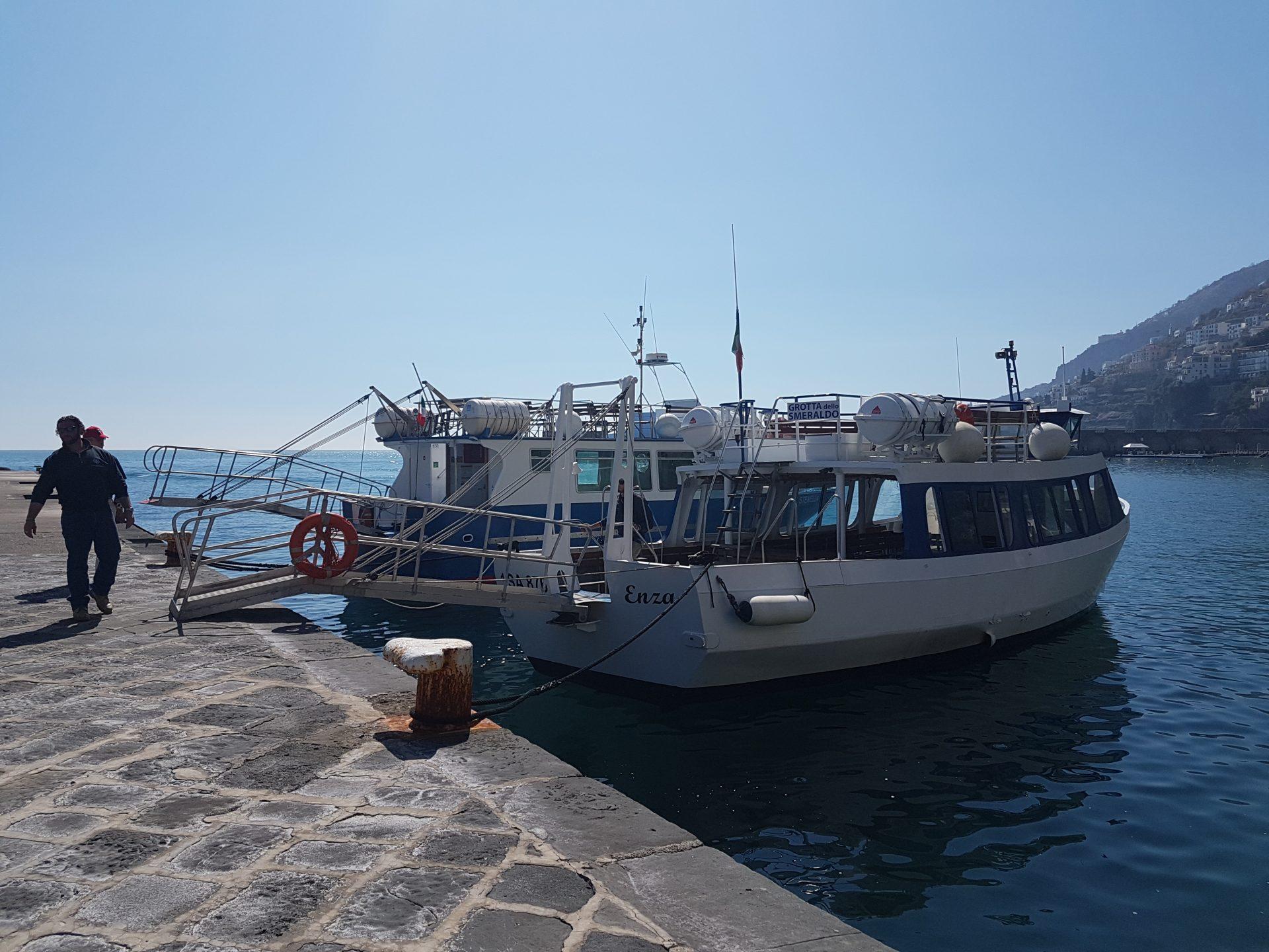 Port w Amalfi