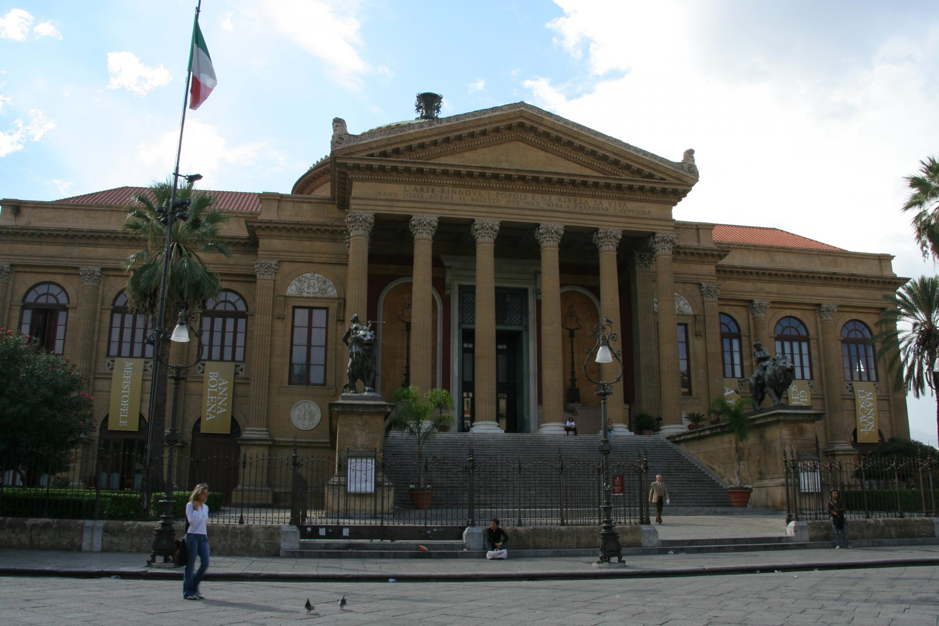 Teatro Massimo w Palermo