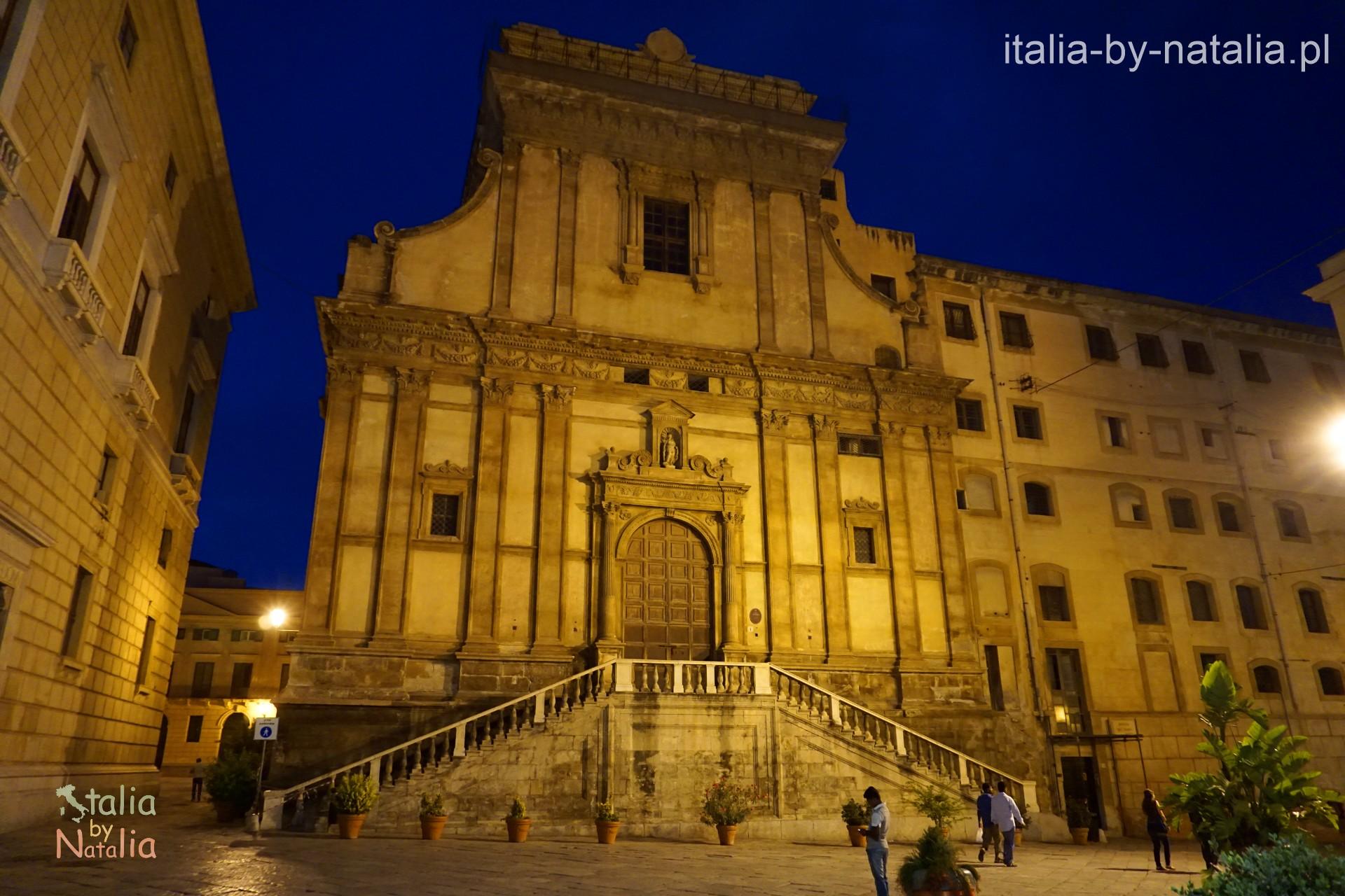 Palermo Santa Caterina Piazza Bellini