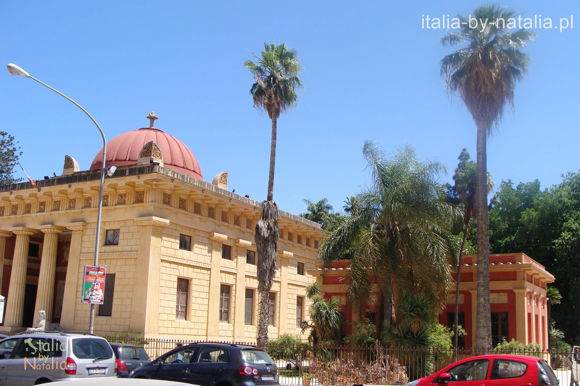 Ogród botaniczny w Palermo