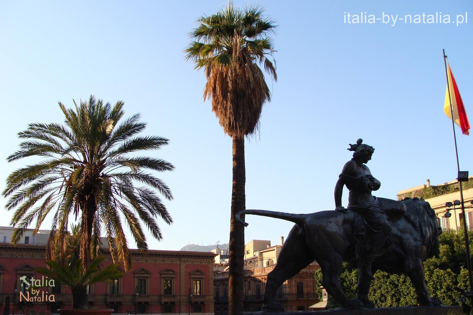 Piazza Verdi w Palermo