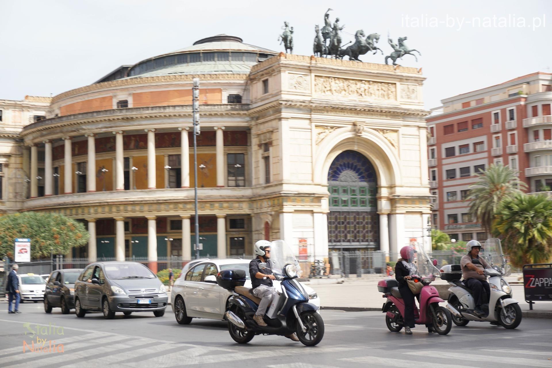 Teatro Politeama w Palermo