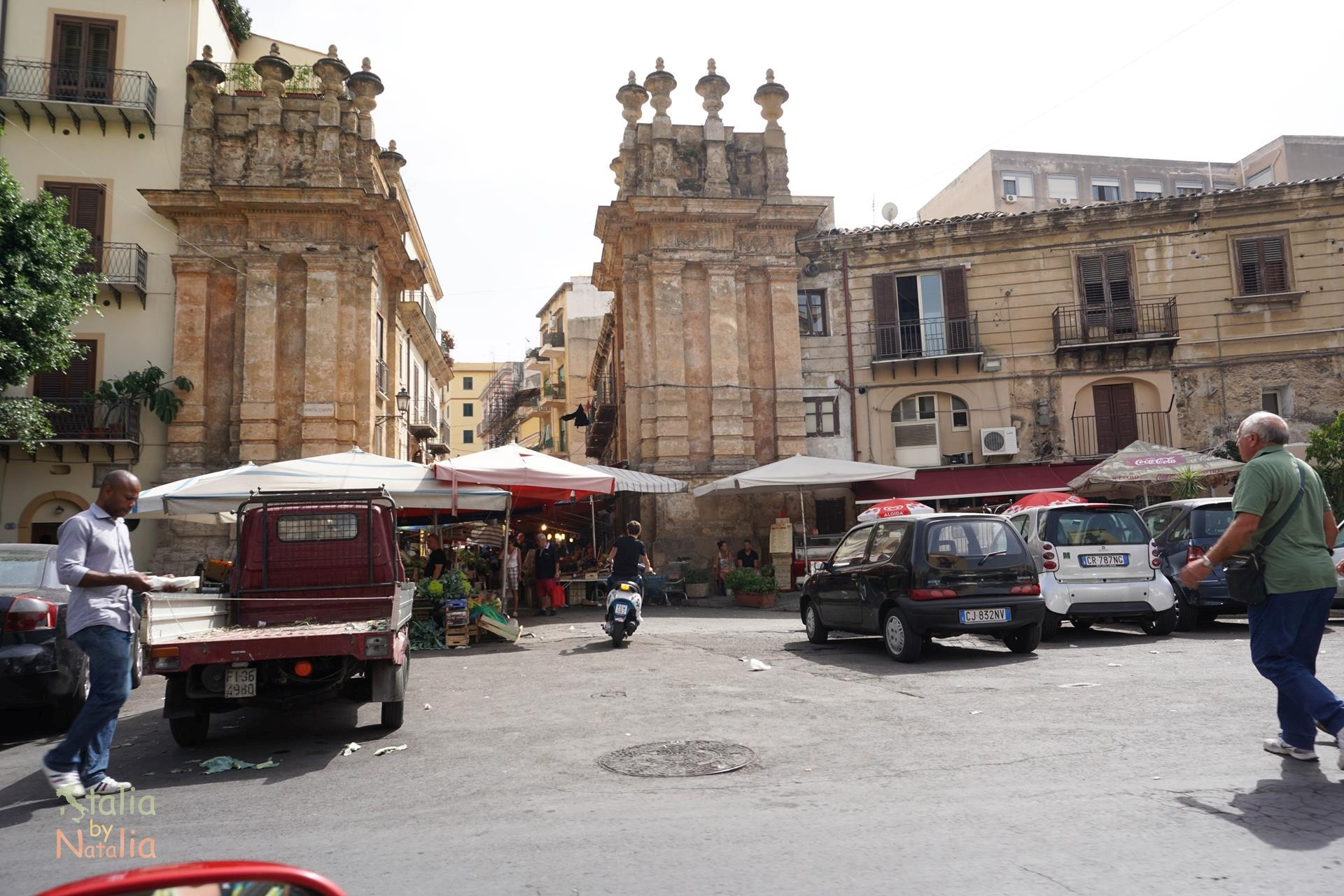 Bazar w Palermo