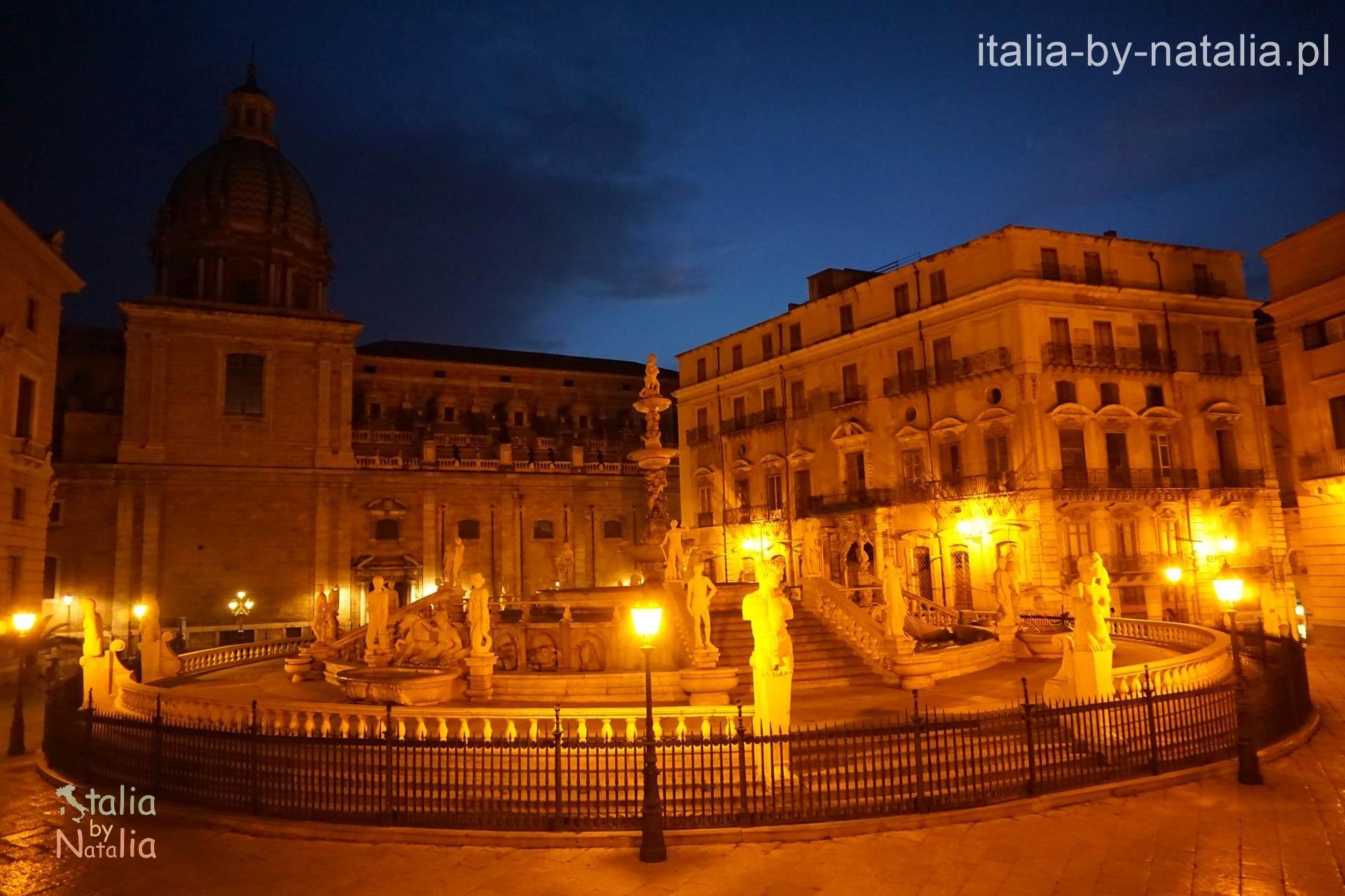 Fontana Pretioria Piazza Pretoria Palermo Fontanna Wstydu