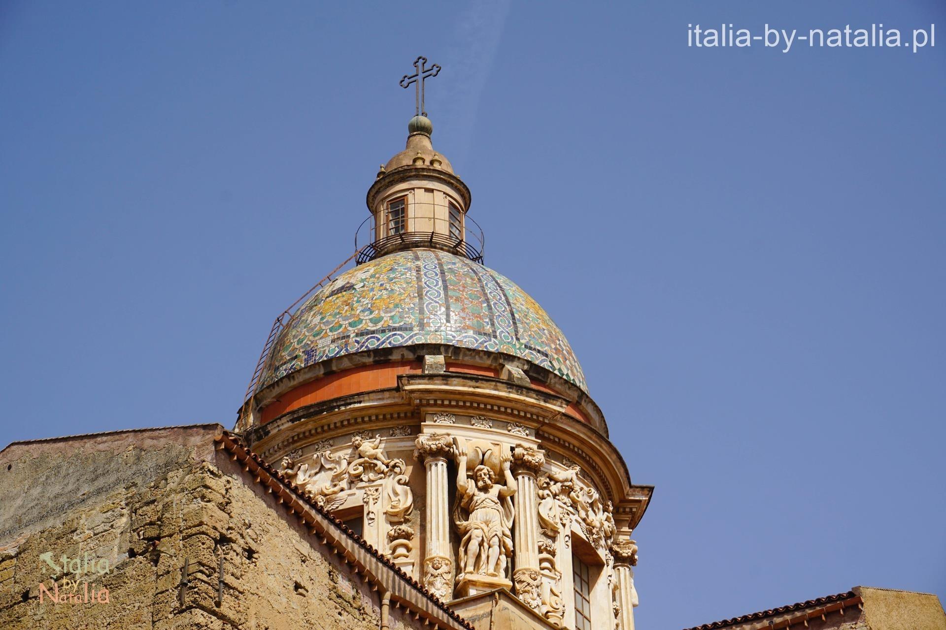 Palermo kopuła kościoła Carmine Maggiore