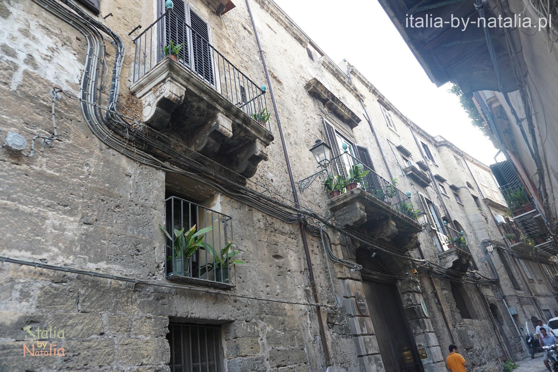 Ulice Palermo dzielnica Albergheria