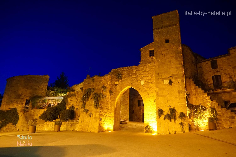 Monticchiello Toskania Włochy Val d'Orcia Tuscany Italy