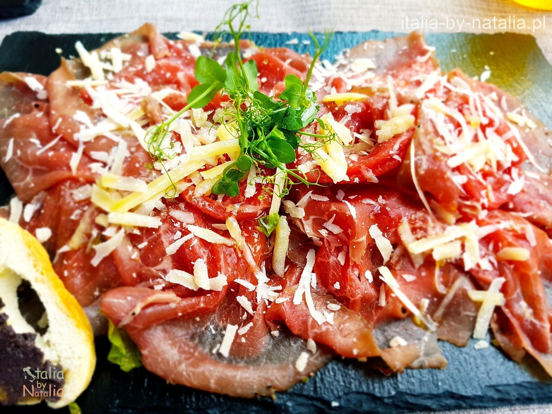 Ristorante Hosteria Toblino Carne Salada gdzie zjeść nad Jeziorem Garda