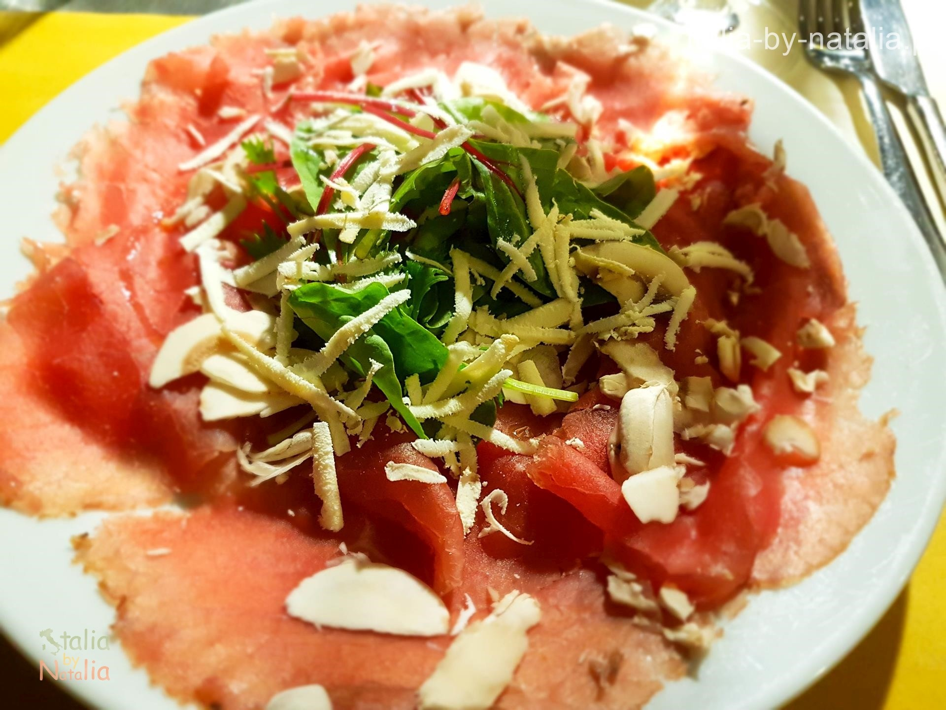 Ristorante Nuovo 900 da Lucio Riva del Garda Carne Salada gdzie zjeść nad Jeziorem Garda