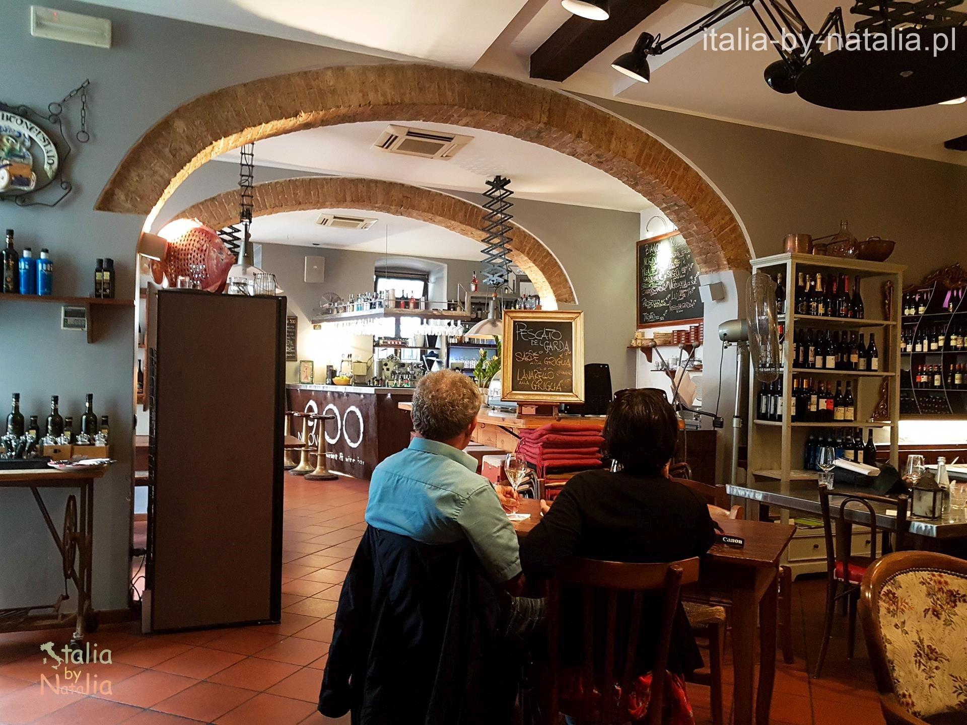 Ristorante Nuovo 900 da Lucio Riva del Garda gdzie zjeść nad Jeziorem Garda