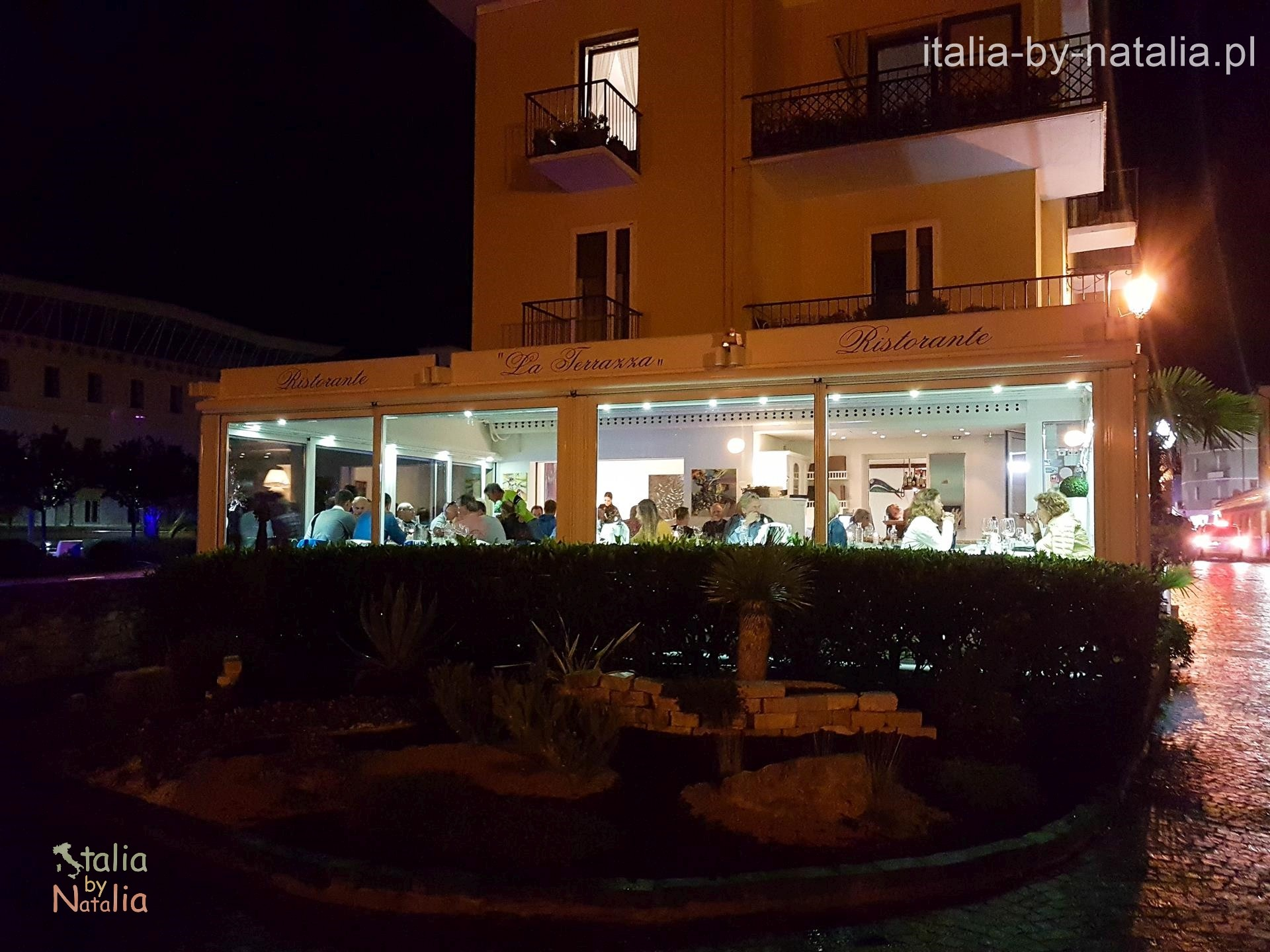 Ristorante La Terazza Torbole gdzie zjeść nad Jeziorem Garda