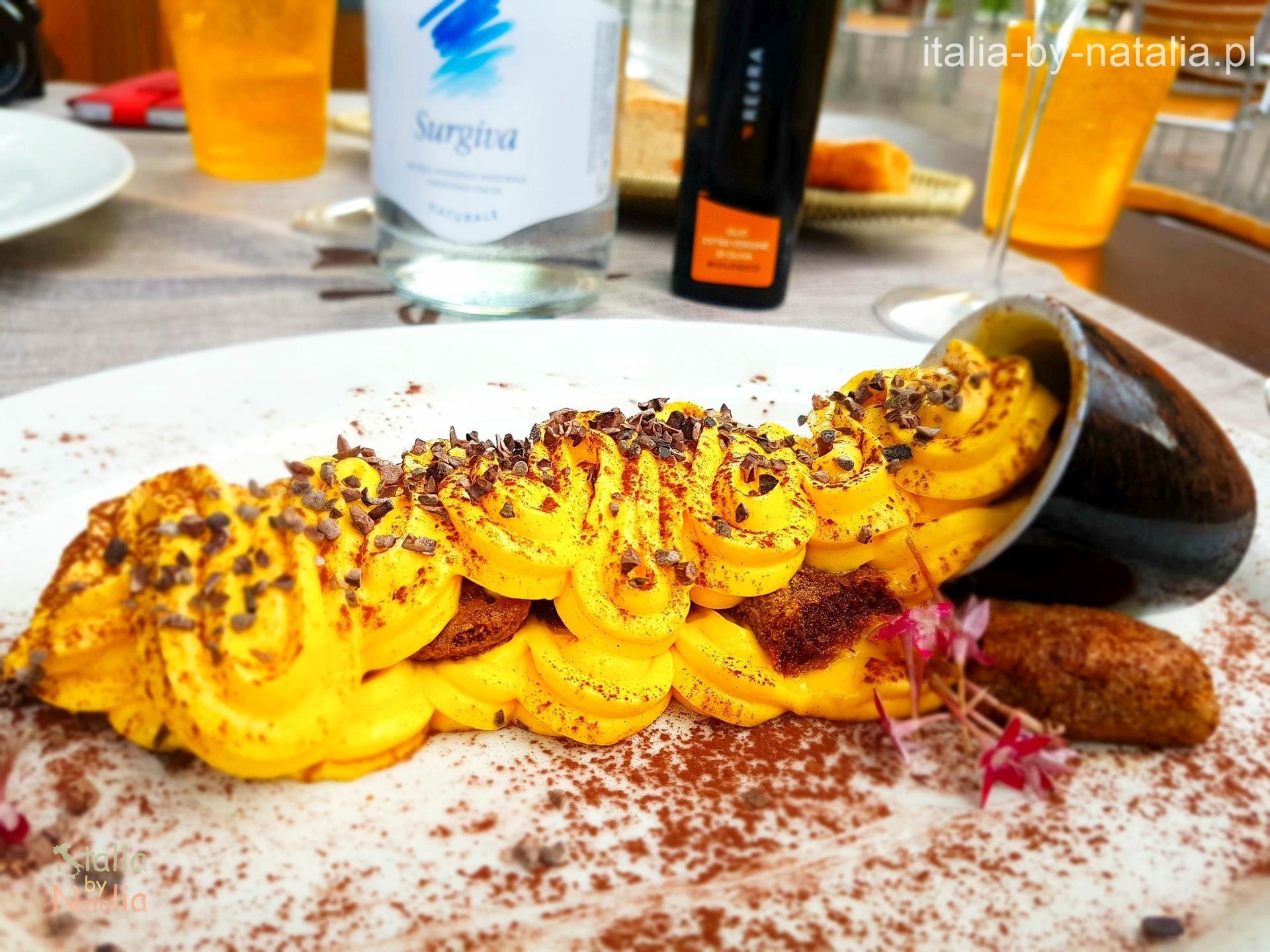 Ristorante Hosteria Toblino Tiramisu gdzie zjeść nad Jeziorem Garda