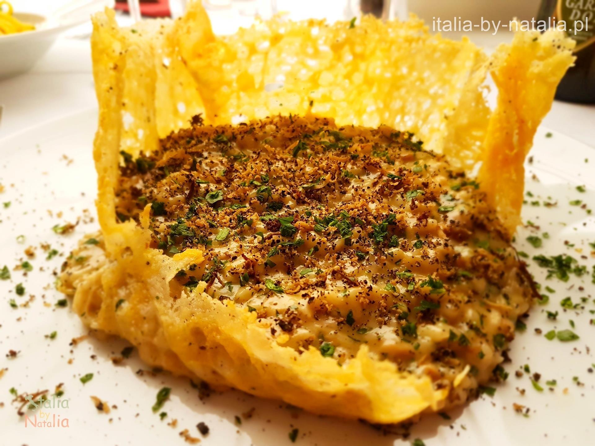 Ristorante Pizzeria Leon d'Oro Riva del Garda risotto gdzie zjeść nad Jeziorem Garda