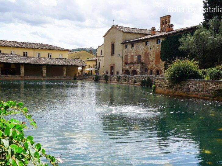 Bagno Vignoni Toskania Val d'Orcia Tuscany