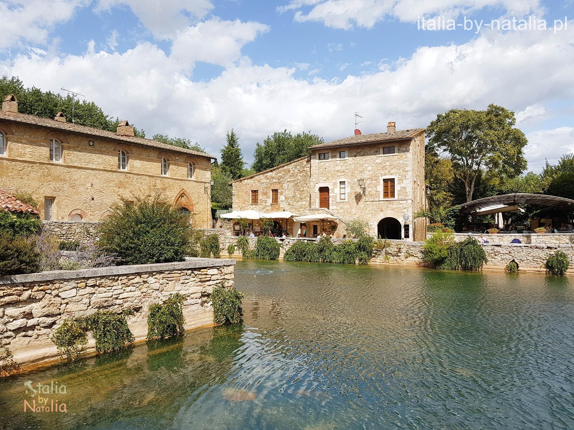 termy w toskanii bagno vignoni Val d'Orcia Tuscany