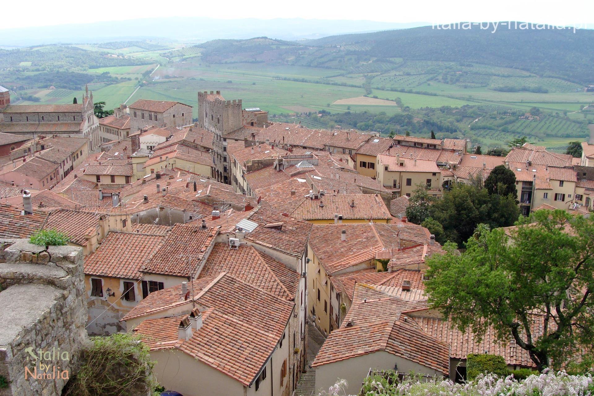 Massa Marittima Toskania Torre del Candeliere