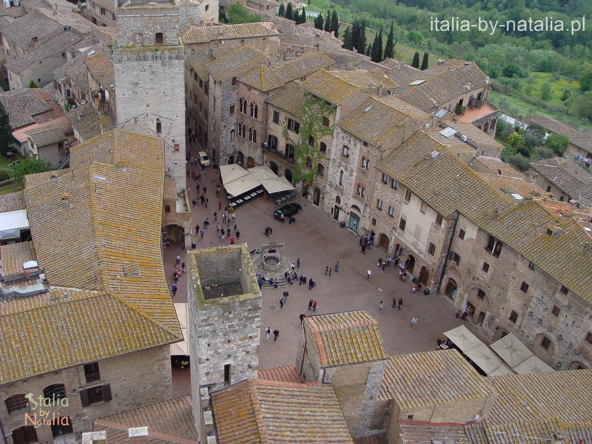 San Gimignano Toskania Duomo widok z wieży