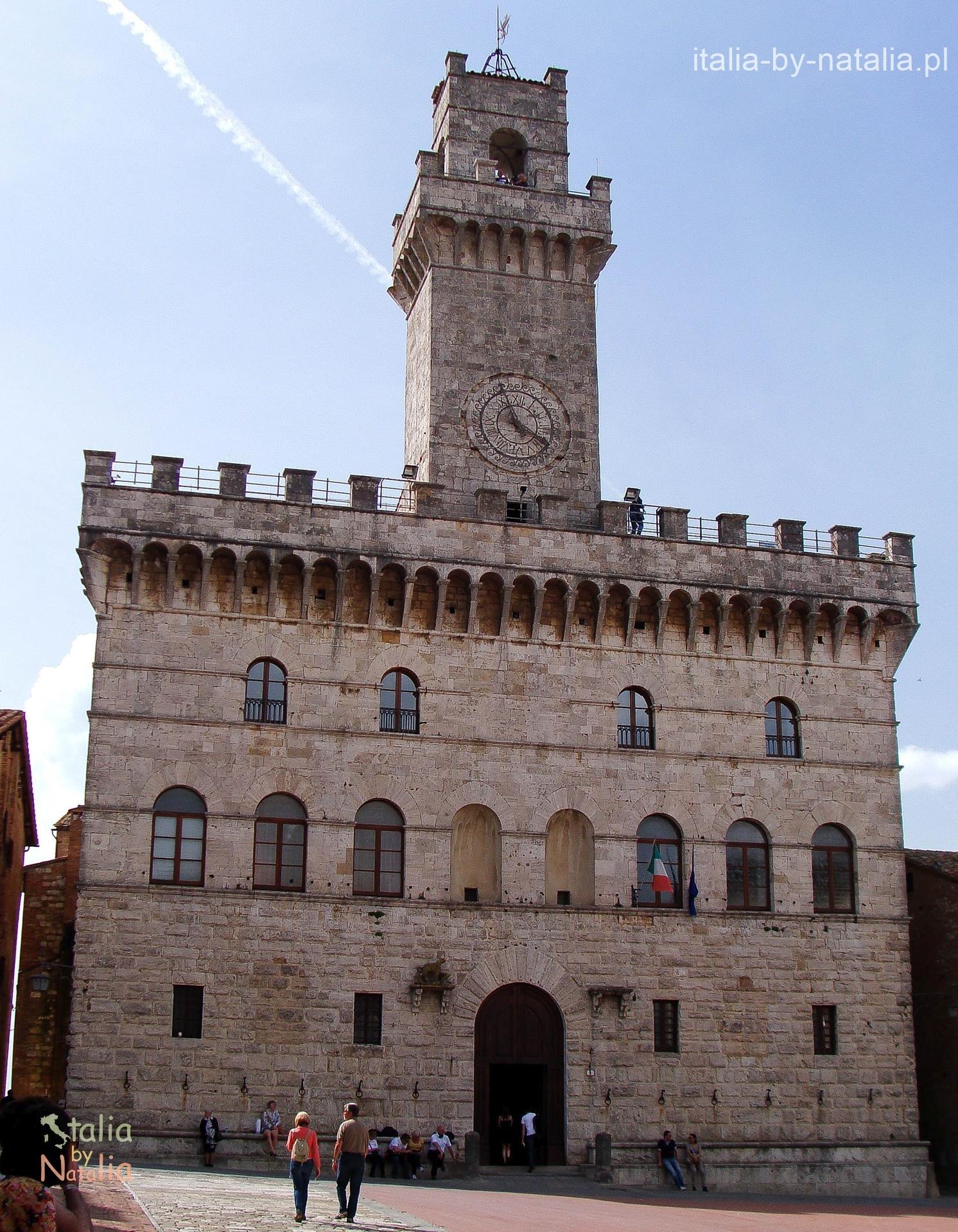 Montepulciano Duomo Torre del Pulcinella