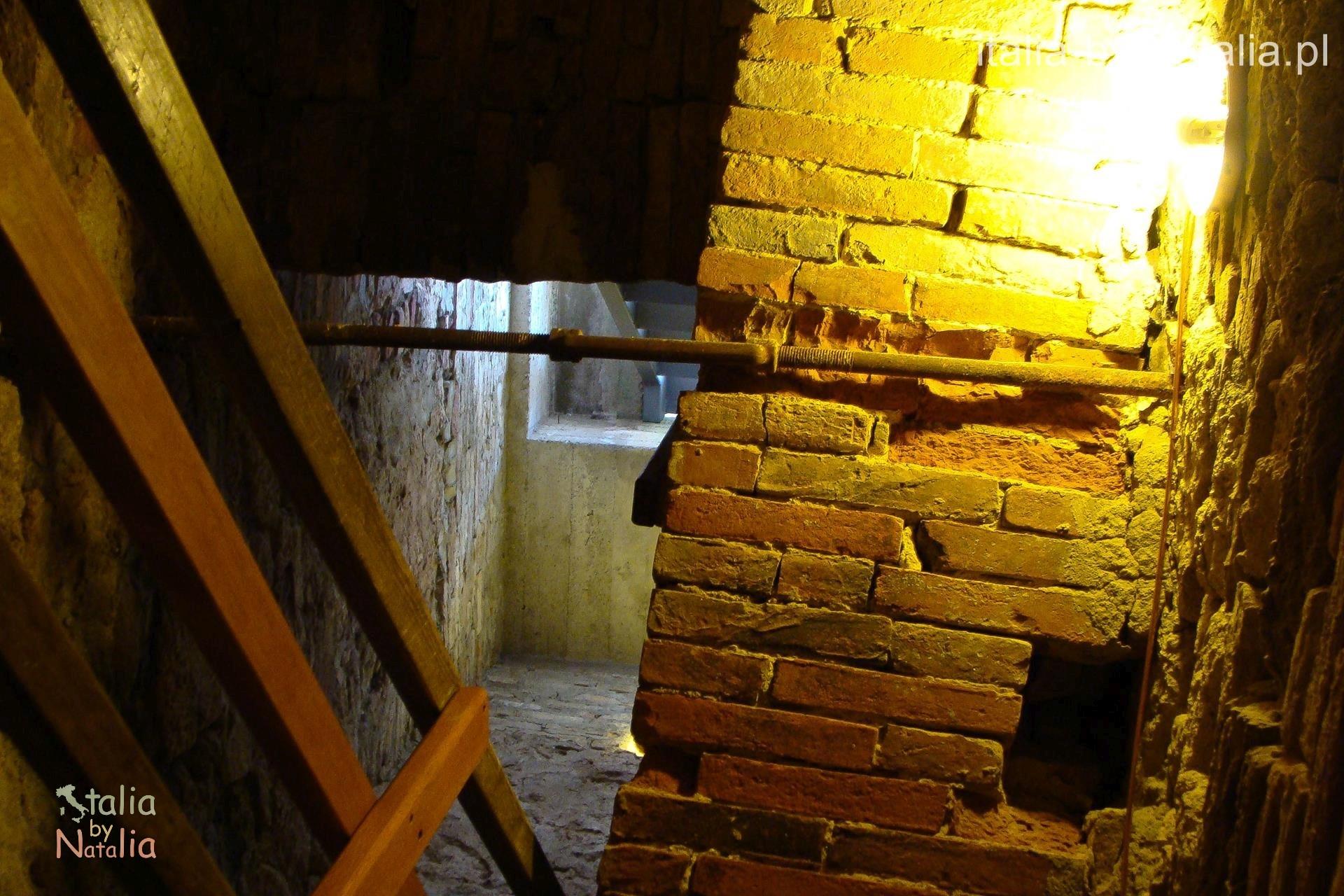Montepulciano Toskania Torre del Pulcinella