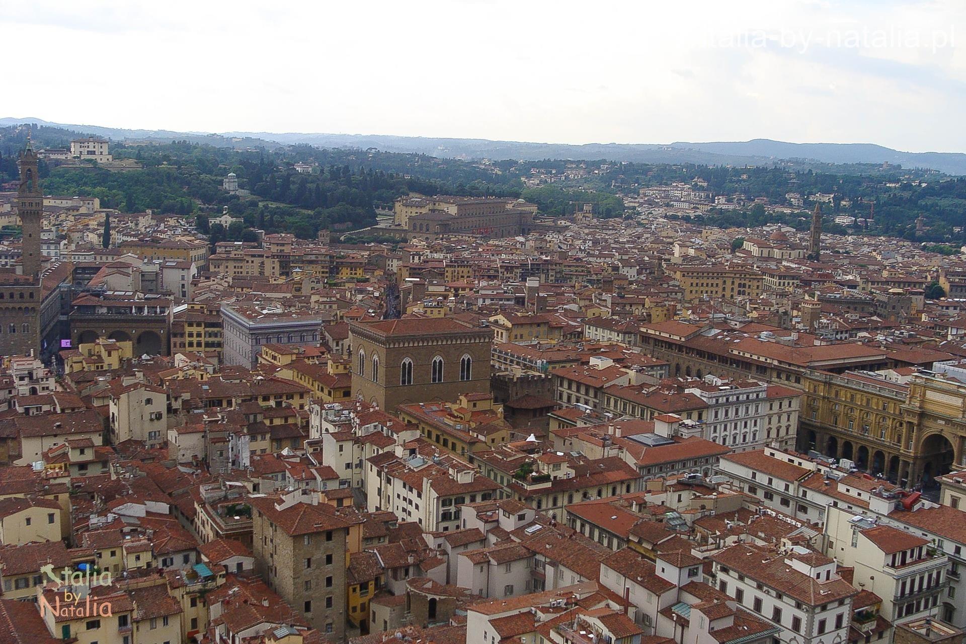 Florencja Katedra widok punkt widokowy panorama kopuła
