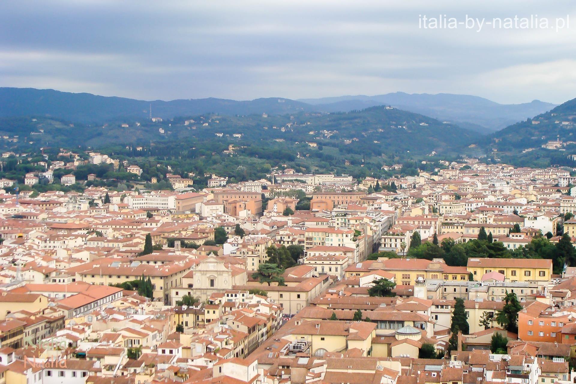 Florencja Katedra widok punkt widokowy panorama