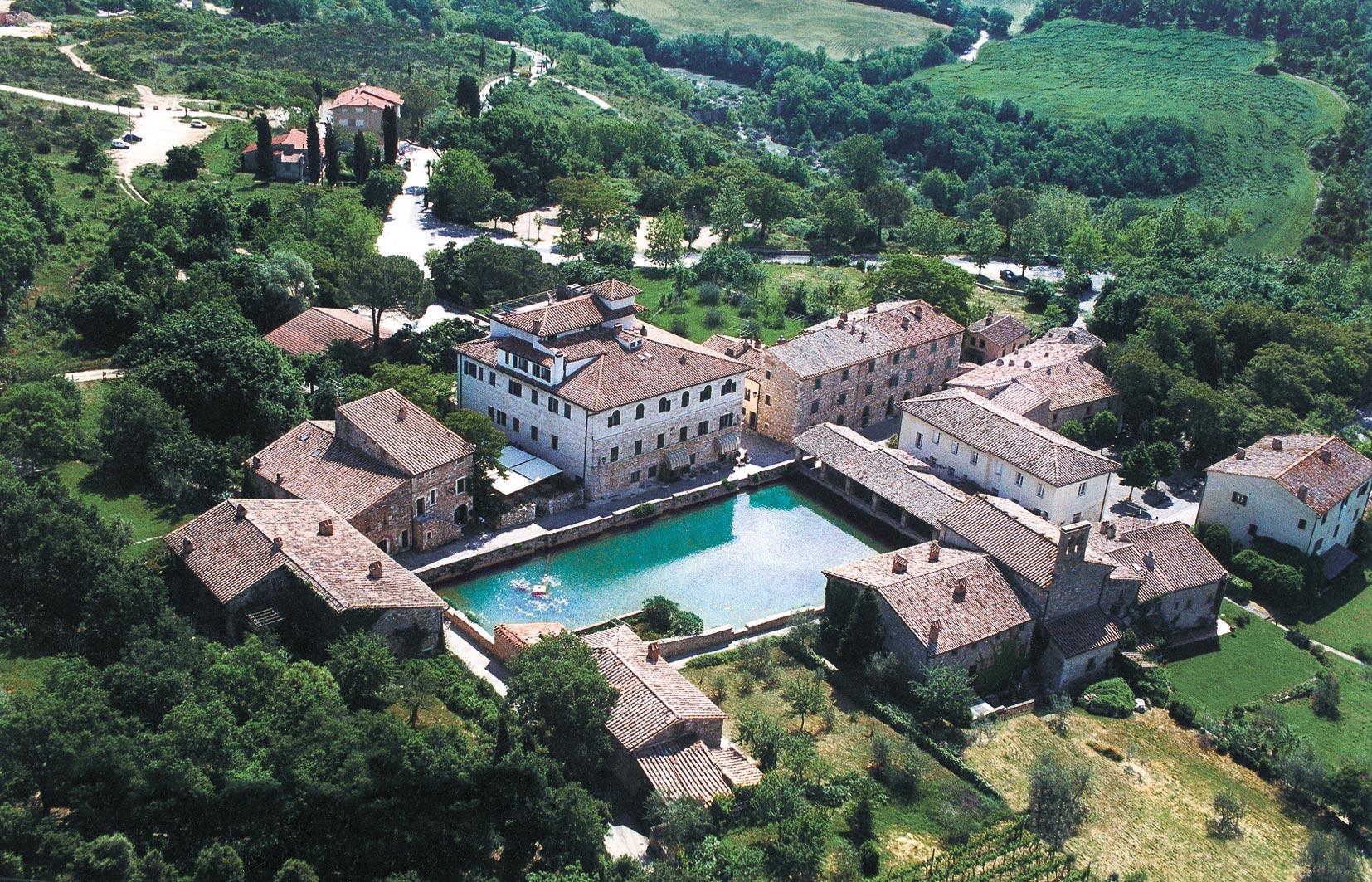 Termy Bagno Vignoni Toskania Val d'Orcia Tuscany