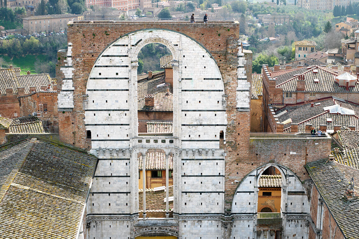 Siena Facciatone Toskania