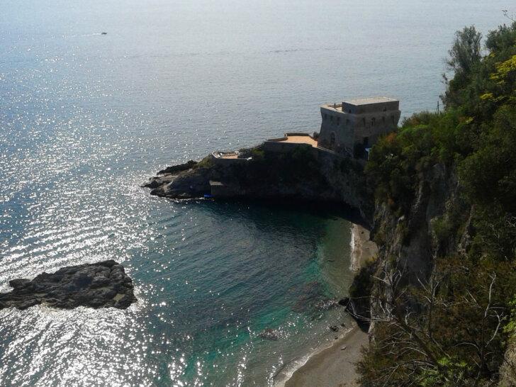 plaża w Erchie Wybrzeże Amalfi