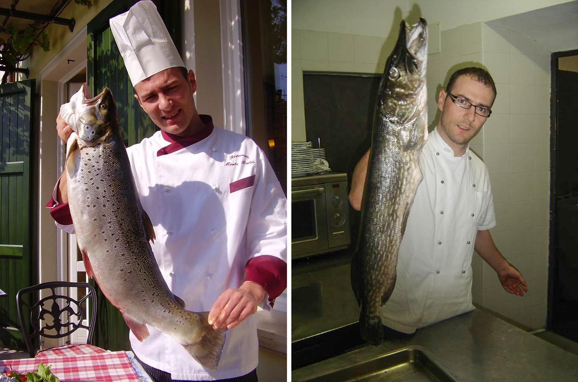 ryby z Jeziora Garda kuchnia Trentino