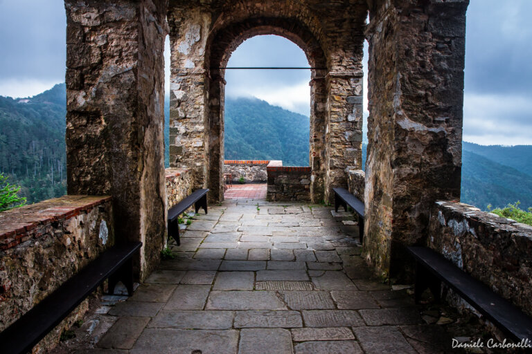 Castello Fosdinovo zamek Toskania Malaspina